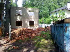 Снос ветхих домов