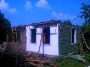 Этапы демонтажа дома