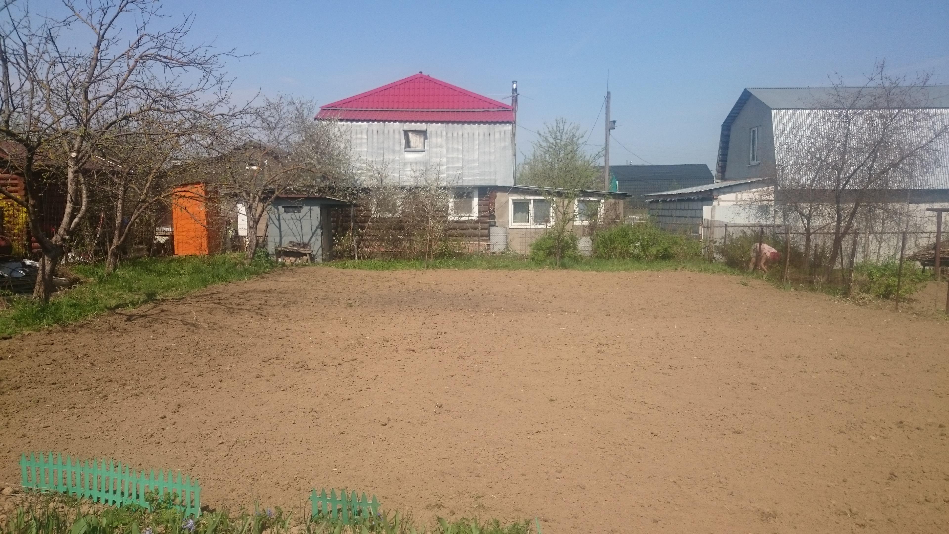 Культивация участка мотоблоком в Щербинке