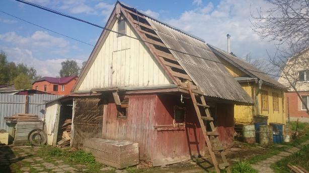 Снос сарая в Дорохово Одинцовского района