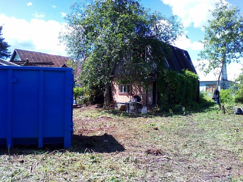 Расчистка земельного участка и удаление деревьев в Старой Купавне