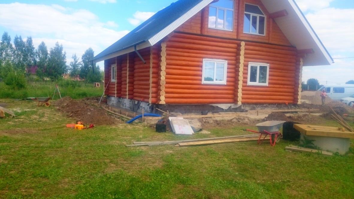 Выравнивание участка существующим грунтом в Павлово-Пасадском районе