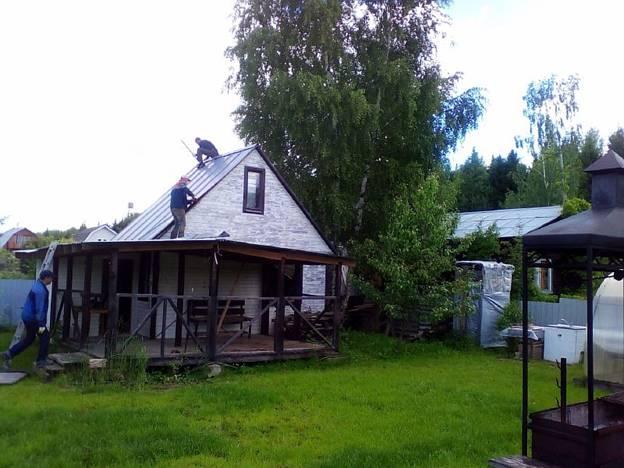 Снос ветхого дома в СНТ «МЕТАЛЛУРГ» Домодедовского района