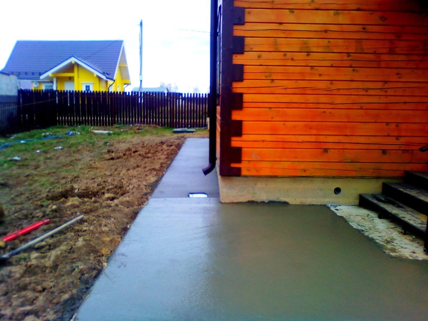 Устройство ливневой канализации в КП «Талицкие Берега»