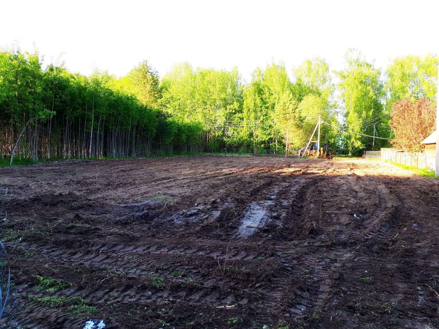 Расчистка участка от леса под дальнейшую застройку в  Деревне Ильинское. СНТ «Лесная Быль»