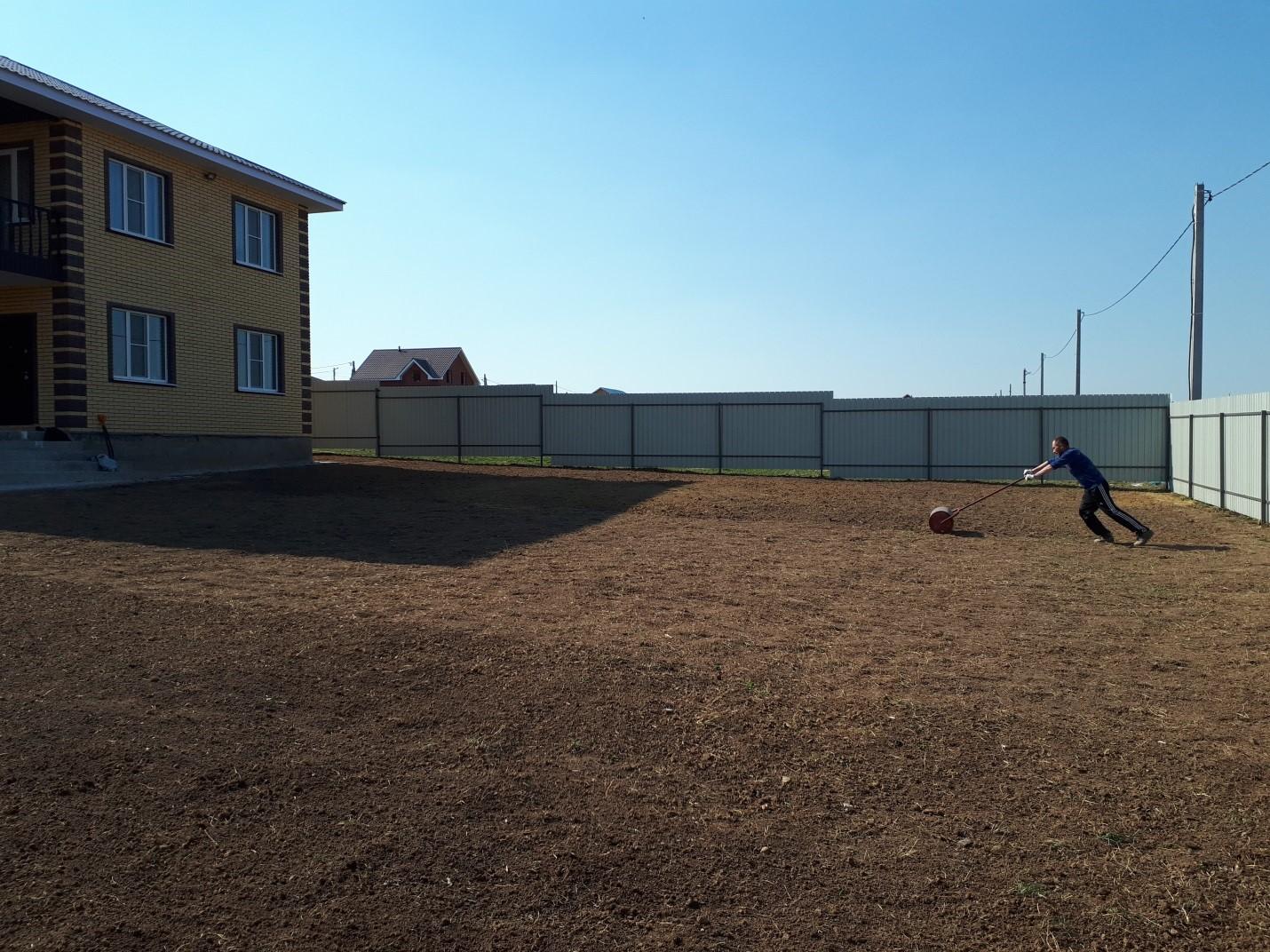 Выравнивание участка существующим грунтом в Ступинском районе